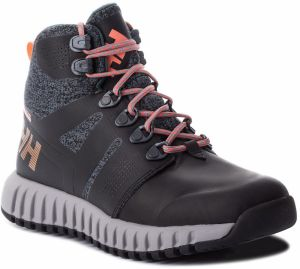 Trekingová obuv HELLY HANSEN - W Vanir Gallivant Ht 114-01.990 Black/Charcoal/Light Grey/Bright Bloom/Neon Coral