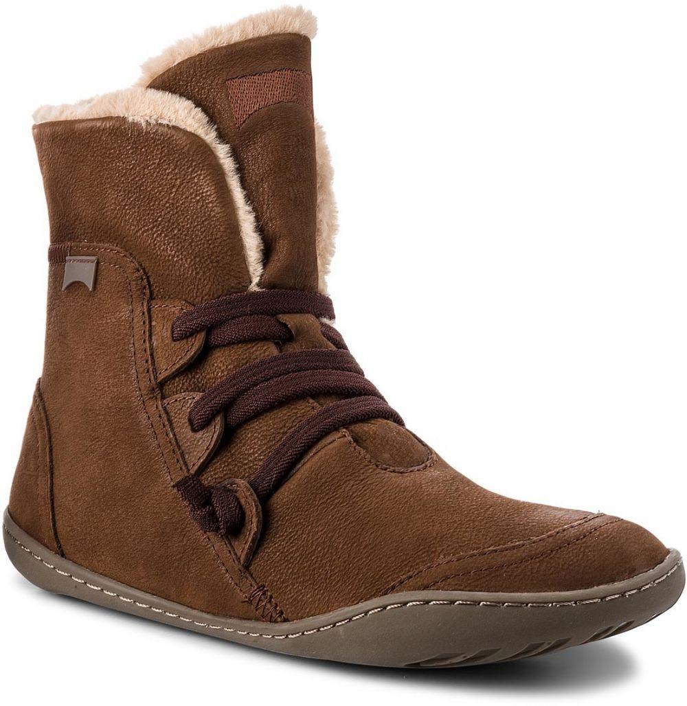Členková obuv CAMPER - Peu Cami 46477-040 Opium Cola Cami Foca ... 0068e3a8294