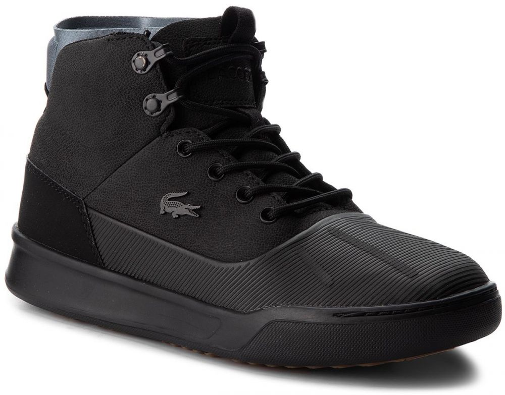 be31fdff6e41 Outdoorová obuv LACOSTE - Explorateur Hydro 3181 Cam 7-36CAM0033237 Blk Dk  Gry