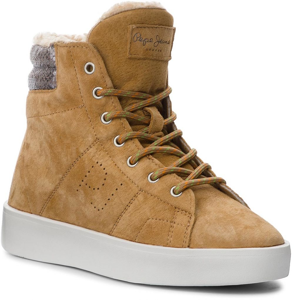 da5acd633d Členková obuv PEPE JEANS - Brixton Goose PLS30774 Camel 855 značky ...