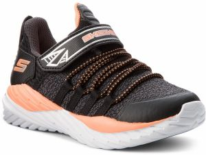 Sneakersy SKECHERS - Vector Shift 97766L/BCOR Blk/Char/Orng