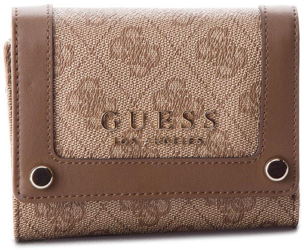 66a9d10023 Veľká Peňaženka Dámska GUESS - Florence Slg SWSG69 91430 BRO značky Guess -  Lovely.sk