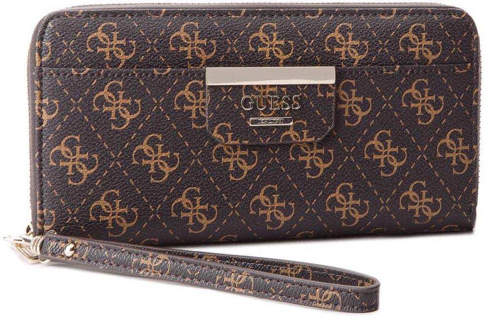 fbfd3f8ff5 Veľká Peňaženka Dámska GUESS - SWQE64 22460 BRO značky Guess - Lovely.sk