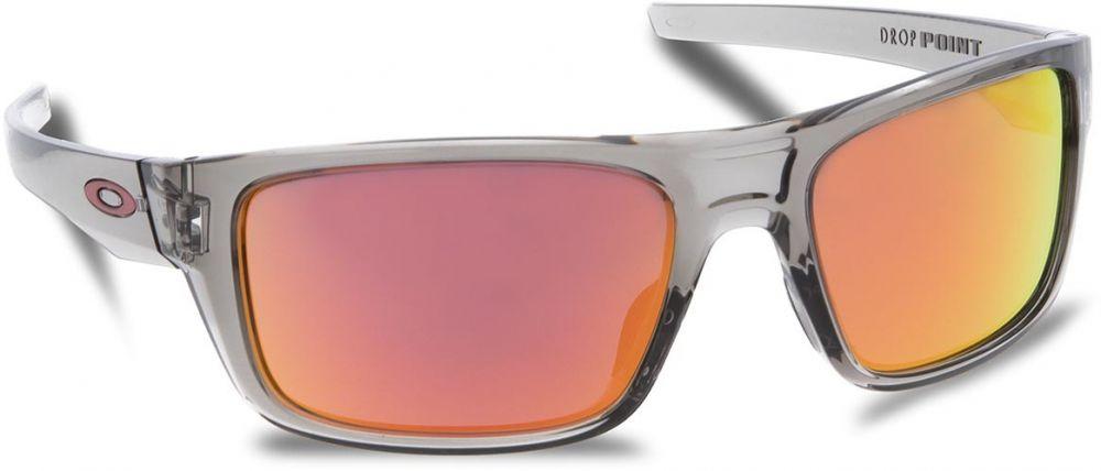 26fce60e657 Slnečné okuliare OAKLEY - Drop Point OO9367-0360 Grey Ink Ruby Iridium