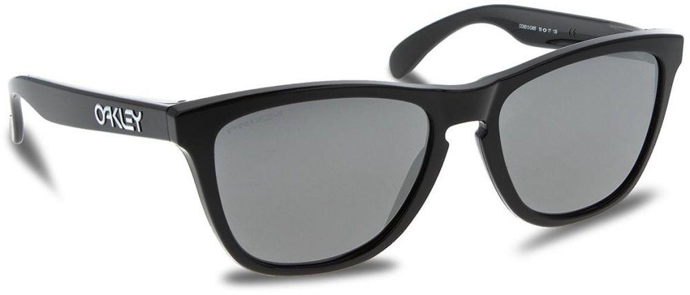 Slnečné okuliare OAKLEY - Frogskins OO9013-C455 Polished Black Prizm Black  Iridium a7425488b47