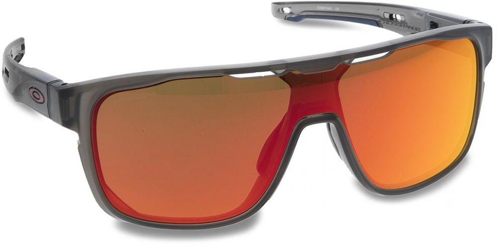 4c2ade452 Slnečné okuliare OAKLEY - Crossrange Shield OO9387-0431 Matte Grey  Smoke/Prizm Ruby značky Oakley - Lovely.sk