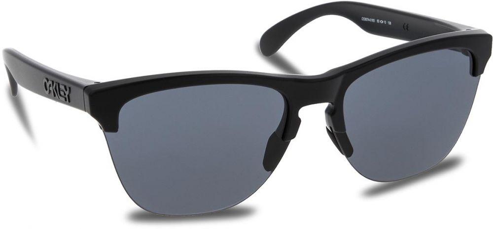 Slnečné okuliare OAKLEY - Frogskins Lite OO9374-0163 Matte Black Grey 890e545ecae