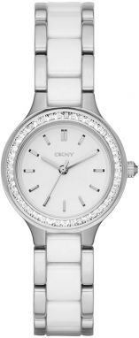 Hodinky DKNY - Chambers NY2494 Silver/Steel/White/Clear
