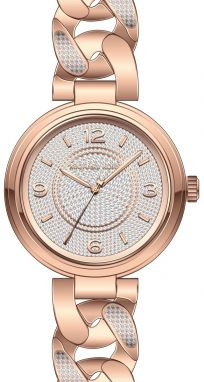 Hodinky MICHAEL KORS - Outlet Ellie MK3635 Rose Gold/Rose Gold