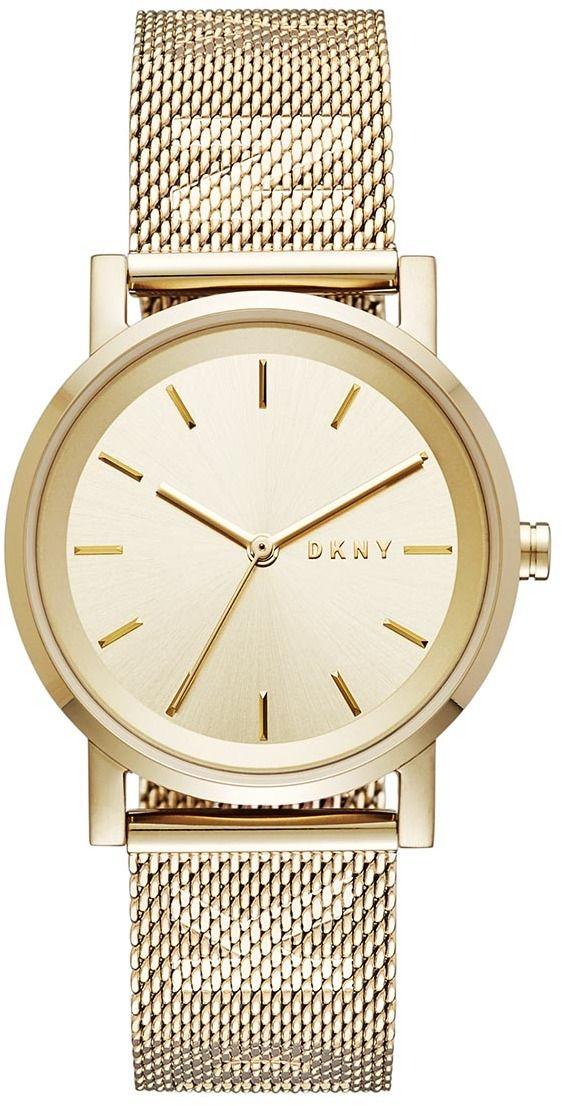700816ce1 Hodinky DKNY - Soho NY2621 Gold/Gold značky DKNY - Lovely.sk