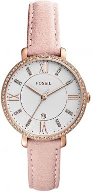 Hodinky FOSSIL - Jacqueline ES4303 Nude/Rose Gold