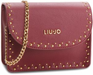 Kabelka LIU JO - S Crossbodye Gioia A68088 E0033 Dark Red 91530