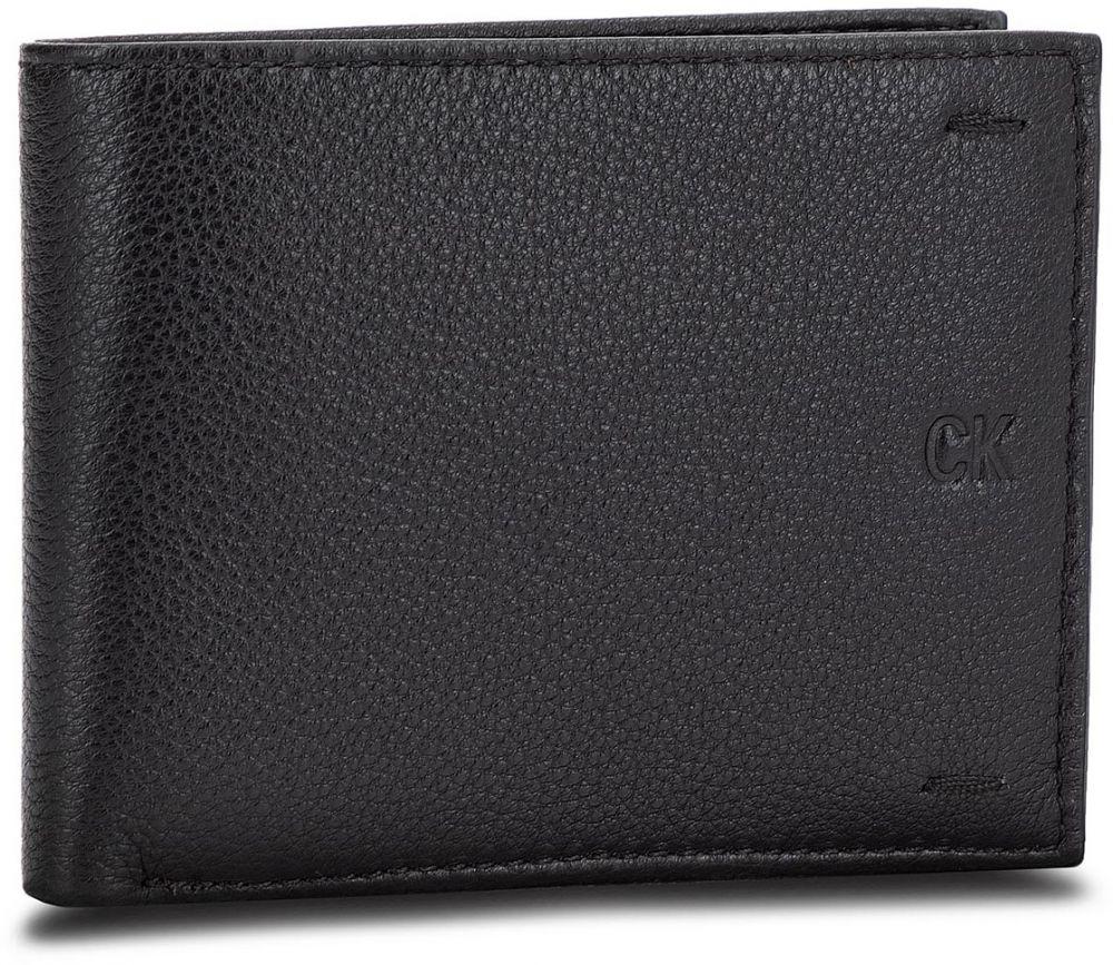 3fbd3109d Veľká Peňaženka Pánska CALVIN KLEIN JEANS - Pebbled Leather Billfold W Coin  K40K400665 001 značky Calvin Klein Jeans - Lovely.sk