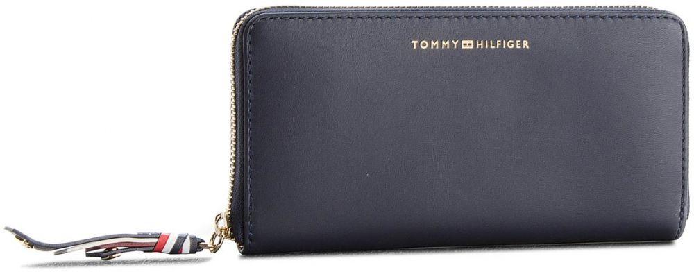 aaf1ee076b Veľká Peňaženka Dámska TOMMY HILFIGER - Stitch Leather Za Wallet AW0AW05497  413 značky Tommy Hilfiger - Lovely.sk