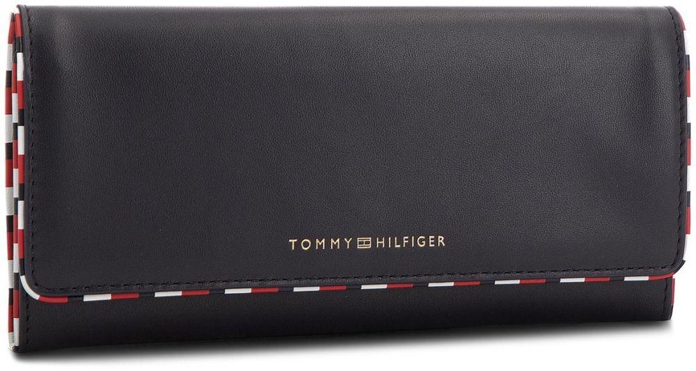 d8a8b1255f Veľká Peňaženka Dámska TOMMY HILFIGER - Classic Th Leather L AW0AW05753 413  značky Tommy Hilfiger - Lovely.sk