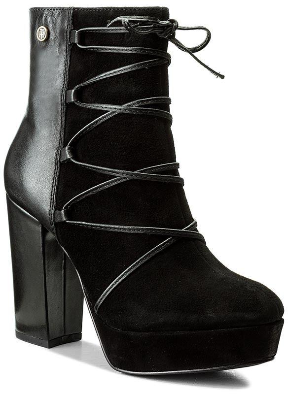 8a20017062 Členková obuv TOMMY HILFIGER - Cheryl 3C FW0FW02016 Black 990 značky Tommy  Hilfiger - Lovely.sk