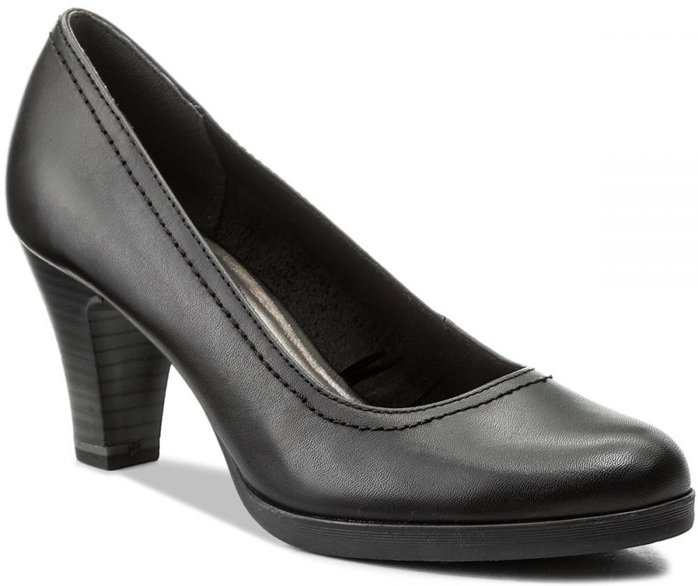c273ed6bd14c9 Poltopánky TAMARIS - 1-22471-20 Black Leather 003 značky Tamaris - Lovely.sk