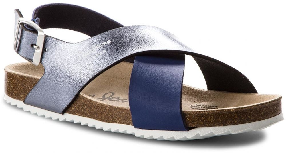 24715881c792 Sandále PEPE JEANS - Bio Cross PGS90098 Electric Blu 554 značky Pepe Jeans  - Lovely.sk