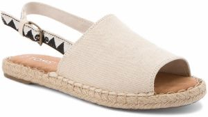 Espadrilky TOMS - Clara 10011823 Birch Hemp/Black Tribal