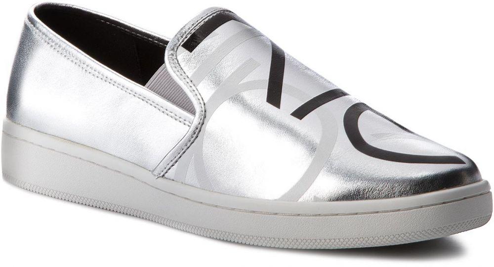 59862e688c Tenisky CALVIN KLEIN - Delora E7522 Silver Black značky Calvin Klein -  Lovely.sk