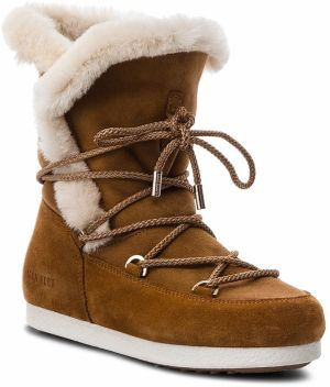 Snehule MOON BOOT - Far Side High Shear 24200700002 Whisky