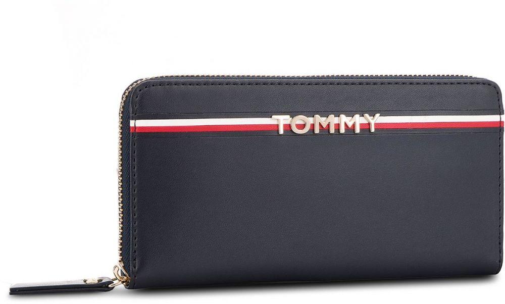 e734181d4a Veľká Peňaženka Dámska TOMMY HILFIGER - Corp Leather Za Wall AW0AW05755 413