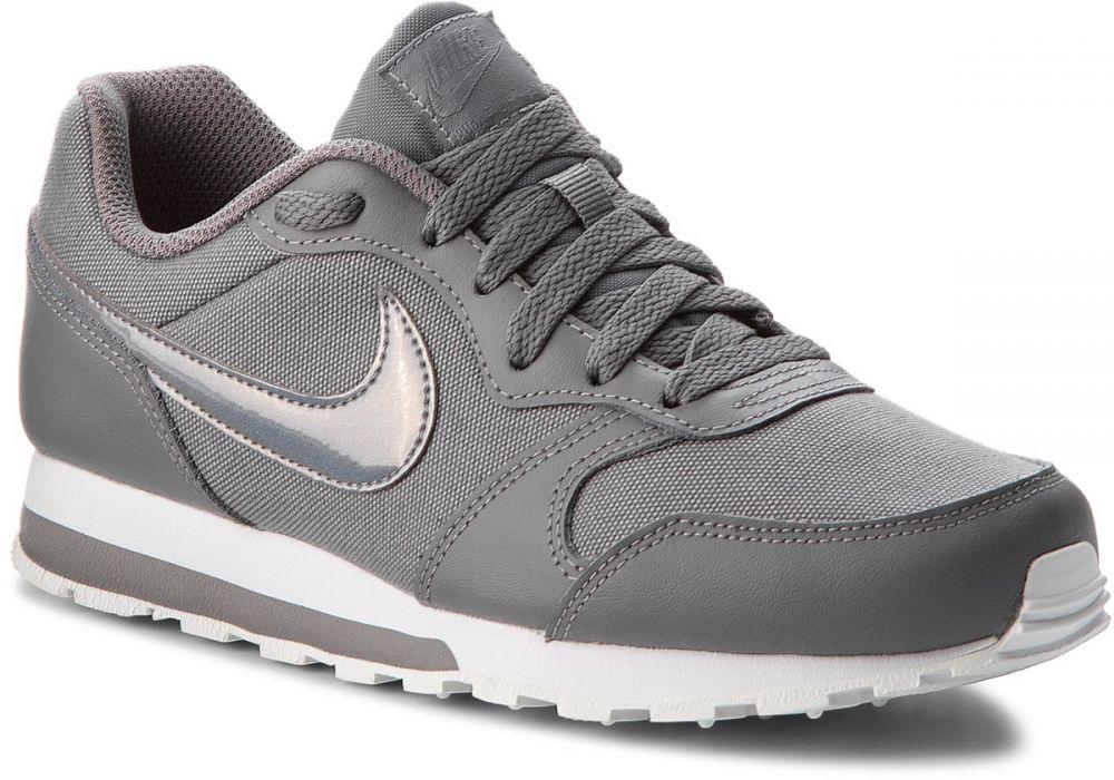 1141905c08144 Topánky NIKE - Md Runner 2 (GS) 807319 014 Gunsmoke/Gunsmoke/White značky  Nike - Lovely.sk