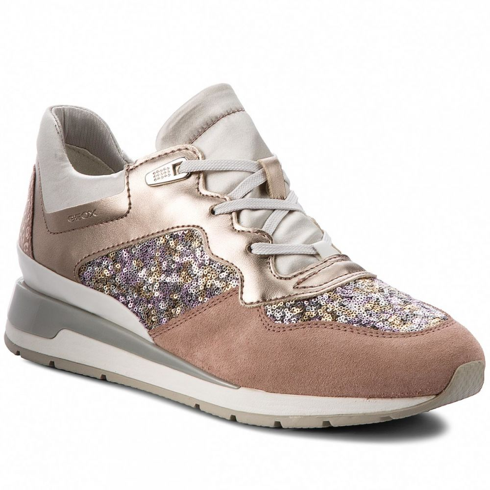 5e35580c8dae Sneakersy GEOX - D Shahira B D62N1B 0AJAY C8A1W Antique Rose Silver značky  Geox - Lovely.sk