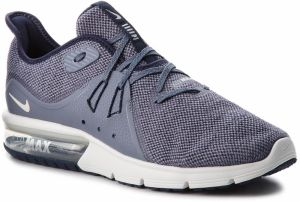Topánky NIKE - Air Max Sequent 3 921694 402 Obsidian/Summit White
