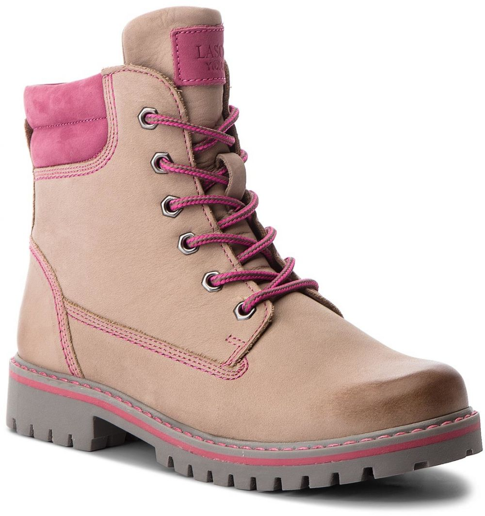Outdoorová obuv LASOCKI YOUNG - CI12-ASTERIX-04 Szary Jasny značky ... f3e480319a
