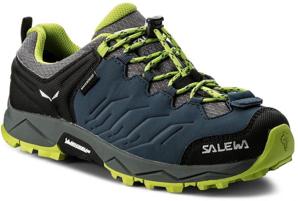 Trekingová obuv SALEWA - Mtn Trainer Wp 64008-0361 Dark Denim Cactus 0361  značky Salewa - Lovely.sk 96d26d96bd8