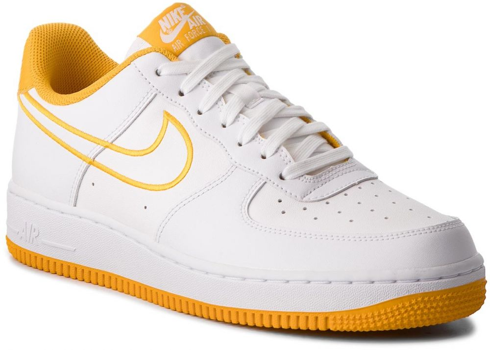 3f7592c7ad1 Topánky NIKE - Air Force 1  07 Lthr AJ7280 101 White Yellow Ochre značky  Nike - Lovely.sk