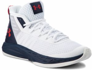 Topánky UNDER ARMOUR - Ua Jet Mid 3020623-102 Wht
