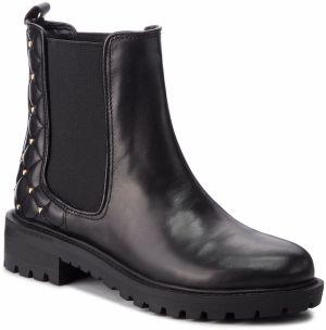 Kotníková obuv s elastickým prvkom GUESS - FLHYD4 LEA09 BLACK 3253325ff4f