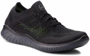 Topánky NIKE - Free Rn Flyknit 2018 942838 002 Black/Anthracite