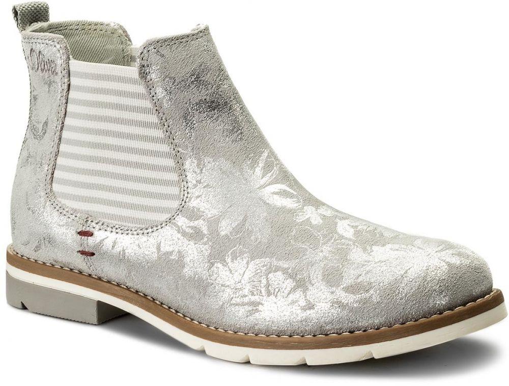 Kotníková obuv s elastickým prvkom S.OLIVER - 5-25335-30 Quartz 202 značky s .Oliver - Lovely.sk 2edb09fae75