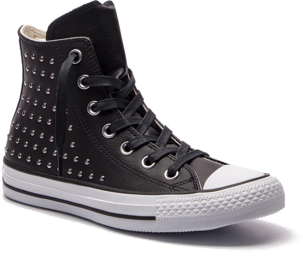 2c99809f573a Tramky CONVERSE - Ctas Hi 561682C Black Black Silver značky Converse ...