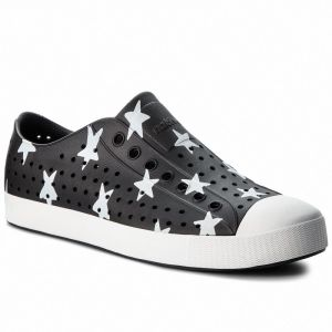 Tramky NATIVE - Jefferson Print 111001-8500 Jiffy Black/Shell White/Big Star