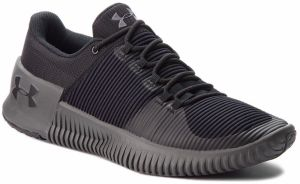 Topánky UNDER ARMOUR - Ua Ultimate Speed Nm 3020751-004 Blk