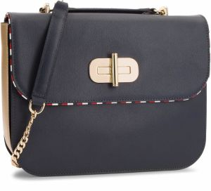 Kabelka TOMMY HILFIGER - Turn Lock Satchel AW0AW05829 903