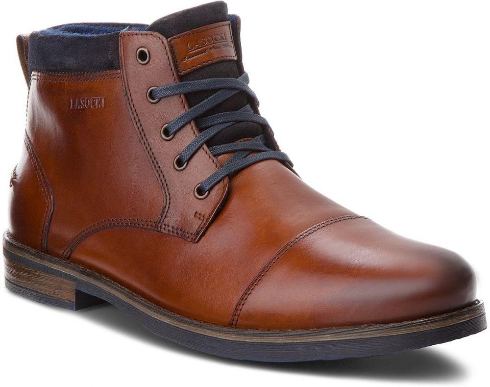 5d545437c3fd1 Outdoorová obuv LASOCKI FOR MEN - MB-GORAN-01BIG Brown značky ...