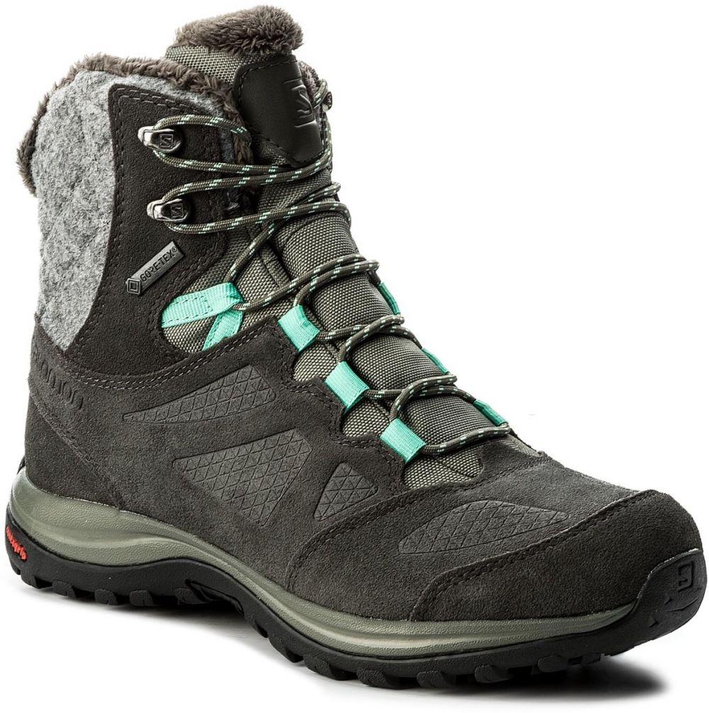49e13868894 Trekingová obuv SALOMON - Ellipse Winter Gtx GORE-TEX 398550 20 V0 Castor  Gray Beluga Biscay Green značky Salomon - Lovely.sk