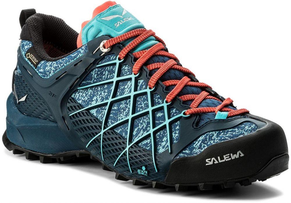 Trekingová obuv SALEWA - Wildfire Gtx GORE-TEX 63488-8964 Poseidon Capri  značky Salewa - Lovely.sk 8d845d0fd5a
