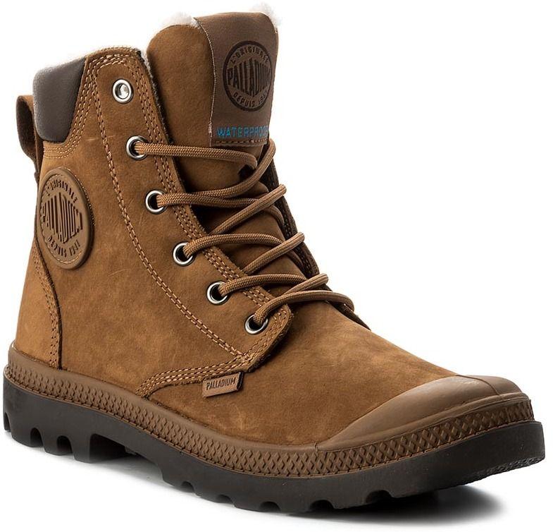 Outdoorová obuv PALLADIUM - Pampa Sport Cuff WPS 72992-697-M Mahogany  Chocolate značky Palladium - Lovely.sk e920277f250