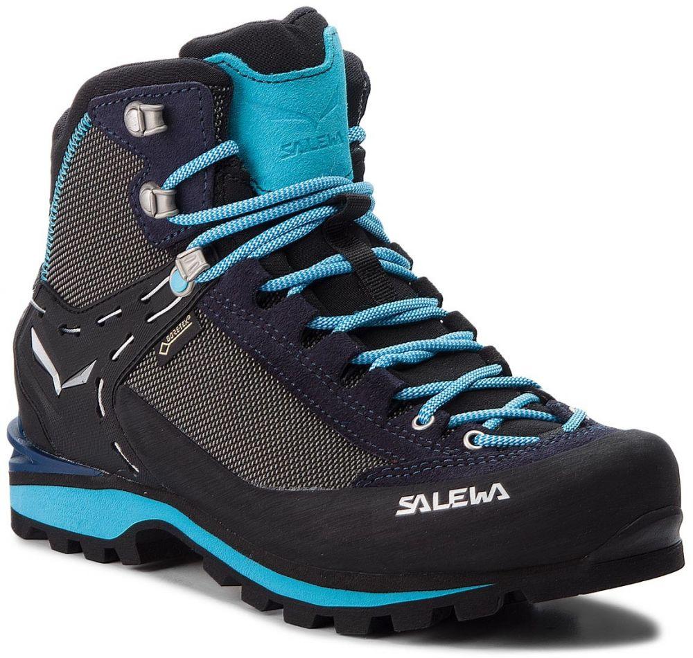 9c3442ac2af13 Trekingová obuv SALEWA - Crow Gtx GORE-TEX 61329-3985 Premium Navy/Ethernal  Blue značky Salewa - Lovely.sk
