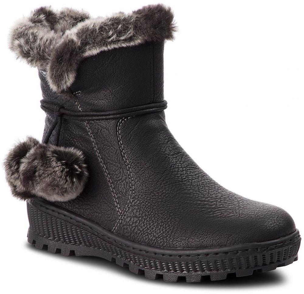 Členková obuv RIEKER - Y5460-00 Schwarz značky RIEKER - Lovely.sk a326292d650