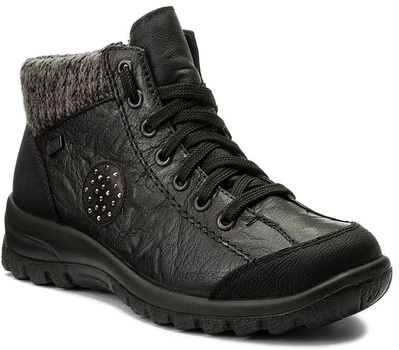 Členková obuv RIEKER - L7110-01 Schwarz značky RIEKER - Lovely.sk 39107830cb3