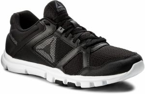 Topánky Reebok - Yourflex Train 10 Mt BS9882 Black/White/Alloy