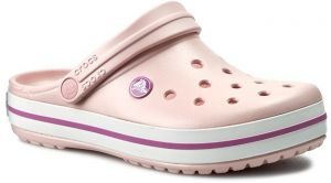 Šľapky CROCS - Crocband 11016 Pearl Pink/Wild Orchid