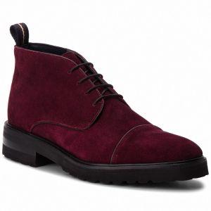 Pánske zimné kožené bordové topánky Supra Oakwood značky SUPRA ... 03f2b8e6a78